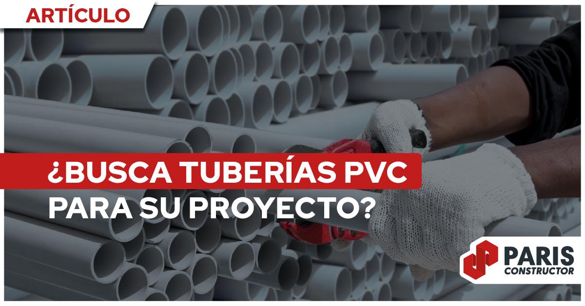 Todo lo que debe tener en cuenta a la hora de escoger tuberías PVC: precio, características y ventajas de sus usos